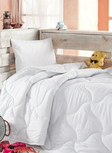 Komfort Home Microfiber Bebek Yorganı 95x145 CM Beyaz